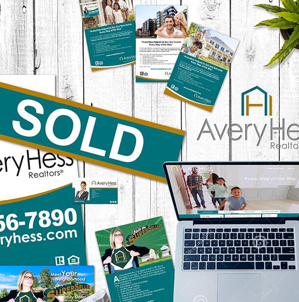 AveryHess Realtors Rebrand